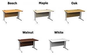 Set Height Desk color options