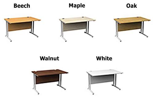 Height Adjustable Desk color options